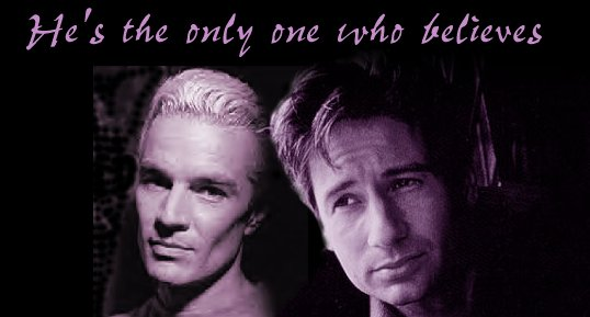 Mulder and Spike